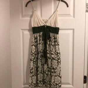 Max Studio Cotton Sun Dress